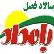 سالاد فصل بامداد در مشهد