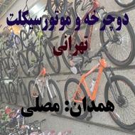 فروشگاه لوازم دوچرخه امینی در همدان
