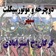 فروشگاه لوازم دوچرخه حسینی در گرگان