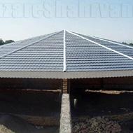 سایه سازان طراحی و اجرای سقف های شیب دار در مشهد