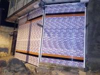 نقاشی ساختمان شهرآرا  و درب اتوماتیک علیزاده در مشهد